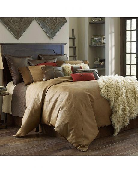 HiEnd Accents Brighton Full Size 4-Piece Bedding Set