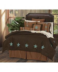 HiEnd Accents Turquoise Laredo 6-Piece Queen Comforter Set