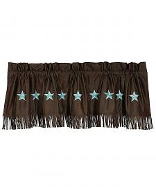 HiEnd Accents Turquoise Laredo Valance