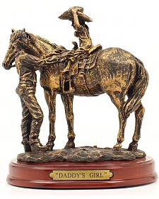 "Western Moments ""Daddy's Girl"" Statue"