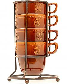 Western Moments Silverado Mug & Rack Set