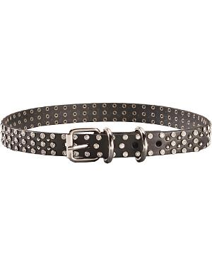 Blazin Roxx Studded Rhinestone Dog Collar - S-XL