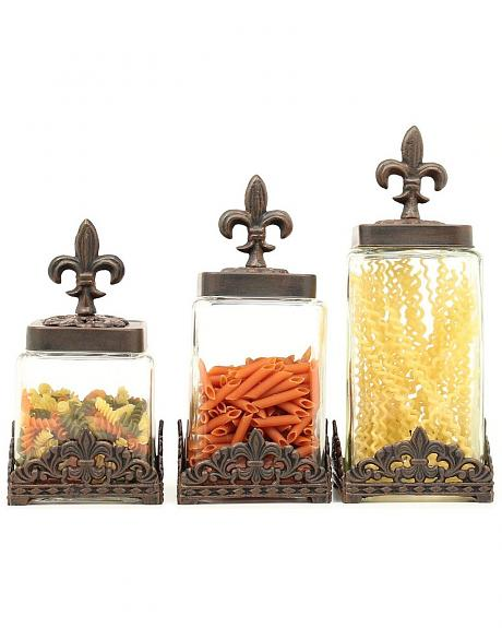 Western Moments Monarch Canisters - Set of 3