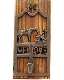 M&F Western Cowboy Prayer Welcome Wall Hook