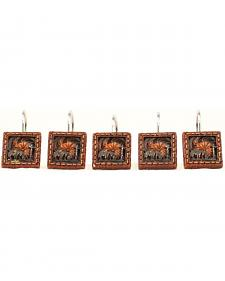 M&F Western Cowboy Prayer Shower Curtain Hooks