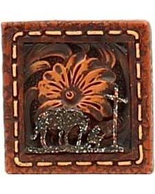 M&F Western Cowboy Prayer Napkin Ring Set