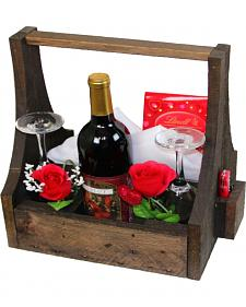 Delighted Home Wine Gift Basket
