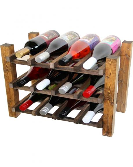 Delighted Home 12 Bottle Pantry Wine Rack