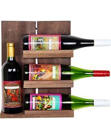 Delighted Home 4 Bottle Wine Shelf