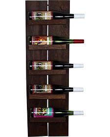 Delighted Home 5 Bottle Side Wine Shelf