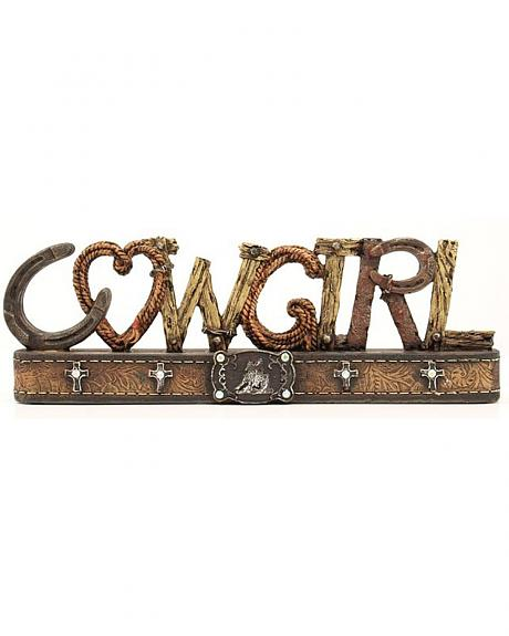 Western Moments Cowgirl Table Top Decor