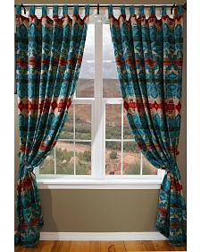 Carstens Turquoise Chamarro Drapes
