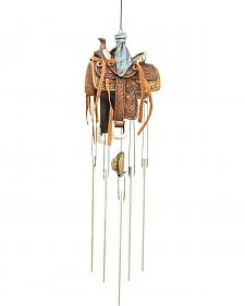 Western Moments Horse Saddle Wind Chime