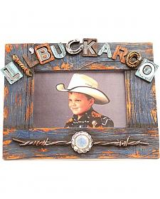 "Western Moments Lil' Buckaroo Photo Frame - 4"" x 6"""