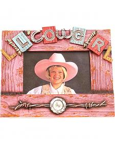 "Western Moments Lil' Cowgirl Photo Frame - 4"" x 6"""