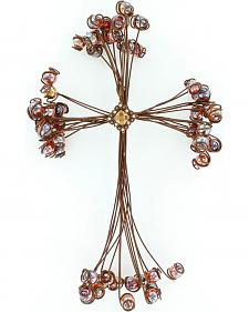 Western Moments Marble Wire Wall Cross