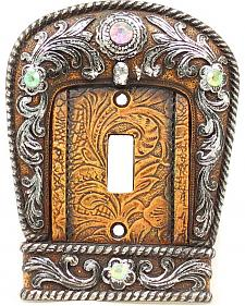 Western Moments Western Buckle Light Switch Plate