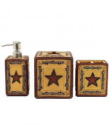 Western Moments Big Star 3-Piece Vanity Set