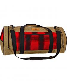 Stormy Kromer The Night-Timer Red Duffle Bag