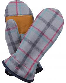 Stormy Kromer Women's Light Grey Plaid Ida's Mittens