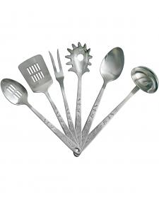 Moss Brothers 6-Piece Brands Stainless Steel Serving Set