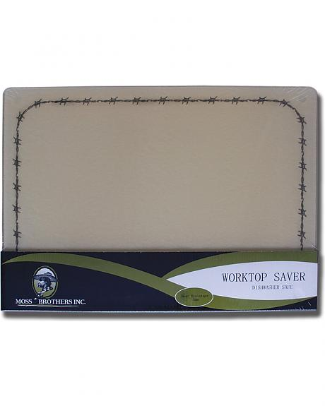 Moss Brothers Barbwire Glass Cutting Board