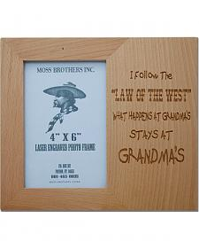 Moss Brothers I Follow... Picture Frame