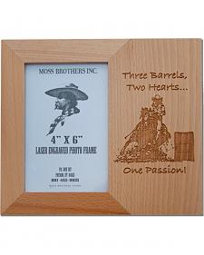 Moss Brothers Three Barrels, Two Hearts... Picture Frame