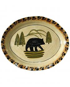 HiEnd Accent Multi Bear Serving Plate