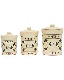 HiEnd Accent Multi Artesia Three-Piece Canister Set