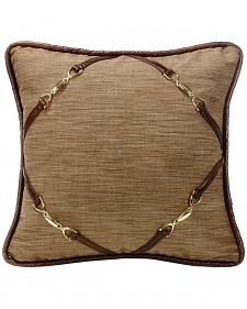 HiEnd Accents Highland Lodge Buckle Pillow