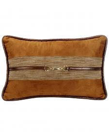 HiEnd Accent Multi Highland Lodge Suede Buckle Pillow