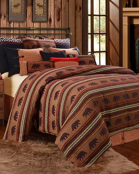 HiEnd Accents Bayfield Bear Full Duvet