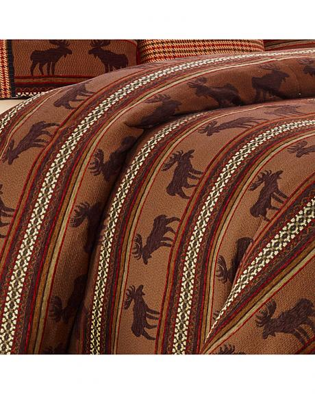 HiEnd Accents Full-Size Bayfield Moose Duvet