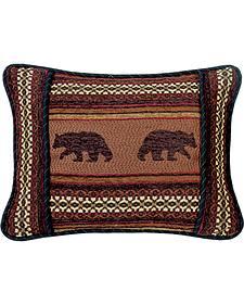 HiEnd Accents Bayfield Oblong Bear Pillow