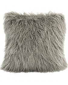 HiEnd Accents Mangolian Faux Fur Pillow