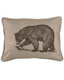 HiEnd Accents Printed Walking Bear Pillow