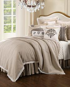 HiEnd Accents Cream Charlotte Bedding Collection - King