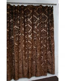 Carstens Gold Rush Shower Curtain