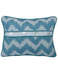 "HiEnd Accents Chevron Print Pillow, 16""X21"""