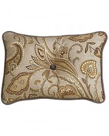 HiEnd Accents Piedmont Paisley Pillow