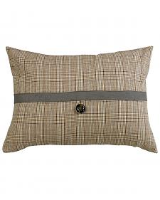HiEnd Accents Plaid Pillow