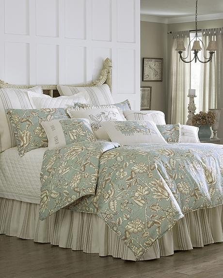 FB4160-SQ-OC HEA 4-PC GRAMMERCY COMFORTER SET, SUPER QUEEN