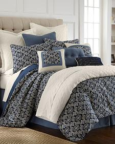HiEnd Accents Mult Monterrey Comforter Set - Super King