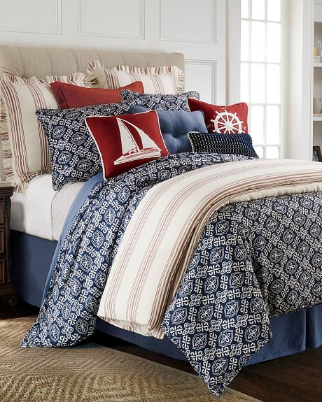 FB3970-SQ-OC HEA 4 PC MONTERREY DUVET SET, SUPER QUEEN