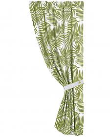 "HiEnd Accents Fern Curtain, 48""X 84"""