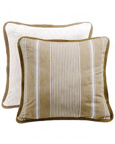 HiEnd Accents Reversible Striped Euro Sham