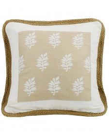 HiEnd Accents Cream Newport Square Pillow