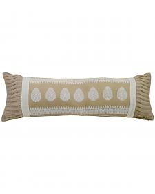 HiEnd Accents Cream Newport Extra Long Pillow