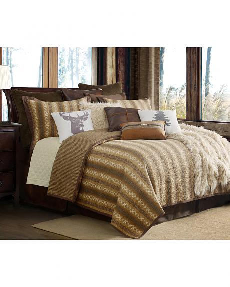 QL1805-TW-OC HEA 2-PC HILL COUNTRY QUILT SET, TWIN